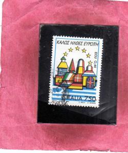 ITALIA REPUBBLICA ITALY REPUBLIC 1993 BENVENUTA EUROPA WELCOME GRECIA GREECE ...
