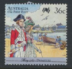SG 1060  SC# 1024b  Used  - Australian Settlement 6th Issue