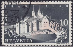 Switzerland 313 Neuchatel Castle 1948