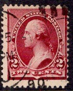 US Stamp Scott #219D USED SCV $5.50
