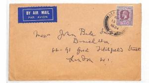 HH67 1934 Malacca Strait Settlements Cover GB London {samwells-covers}PTS