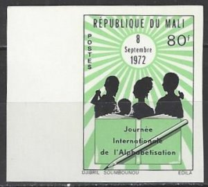 Mali 181  IMP  MNH  International Book Year