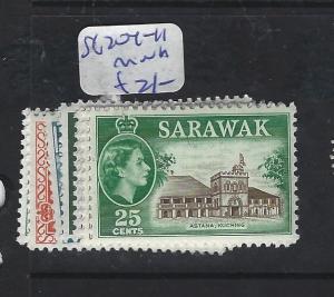 SARAWAK (P1912B)  QEII  WT 204-11   MNH