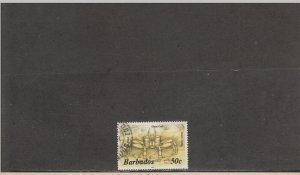 BARBADOS 651a USED 2019 SCOTT CATALOGUE VALUE $9.00