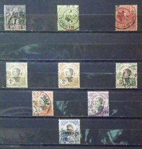 FR INDO CHINA  MH Used  Scott # 3, 6, 28, 41, 42, 44, 45, 46, 48   C.V.$ 7.90