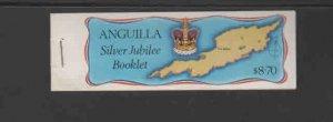 ANGUILLA #271-274  1977  QEII 25TH BIRTHDAY   MINT VF NH  O.G  C/B