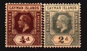 Cayman Scott 32 and 35 Unused Hinged
