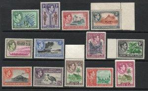British Solomon Islands - SG# 60 - 72 MH/MLH  -  Lot 0120204
