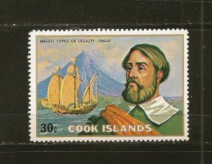 Cook Islands 426 Legazpi MNH