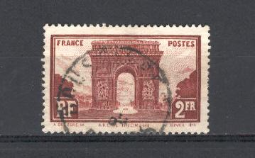France 1931 Scott 263 u fvf scv $1.25 less 75%=$0.30BIN