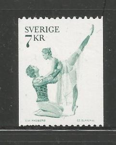 SWEDEN, 1141,  MNH, BALLET