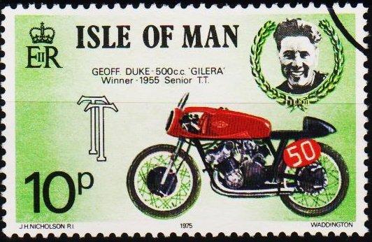 Isle of Man. 1975 10p S.G.65 Fine Used