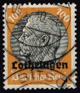 France #N58 Hindenburg - German Occupation; Used (3Stars)