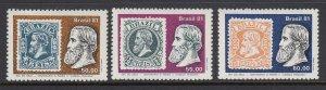 Brazil 1752-4 Postage Stamps mnh