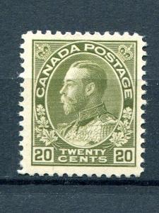 Canada #119 Mint VF NH  - Lakeshore Philatelics