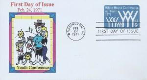 U564 6c AGING CONFERENCE STAMPED ENVELOPE - Henry Cathey cachet