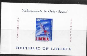Liberia #C162  50c   Achievements in Outer Space S/S (MNH) CV$9.00