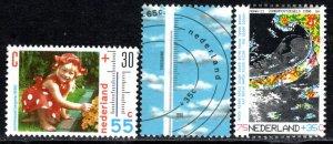 Netherlands Scott # B650 - B652, mint nh