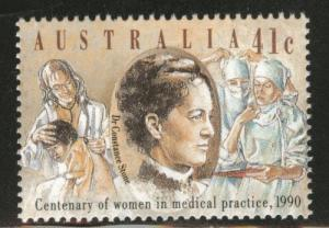 AUSTRALIA Scott 1165 MNH** 1990 Women Doctor stamp