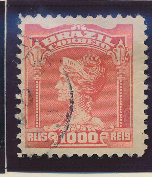 Brazil Stamp Scott #185, Used - Free U.S. Shipping, Free Worldwide Shipping O...