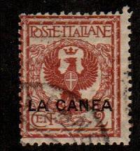 Italy Offices In Crete #4  Used  Scott $4.50
