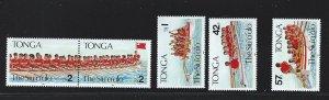 Tonga MNH SC#  778 - 782a