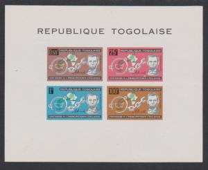 Togo Lincoln Centenary of American Slaves' Emancipation MS SG#MS339a