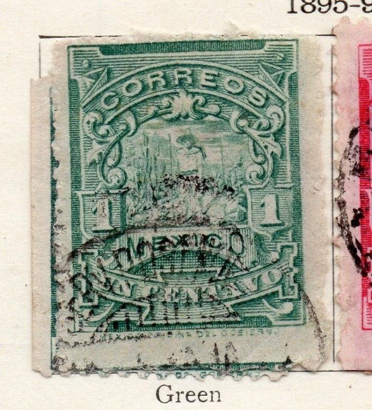 Mexico 1895-98 Early Issue Fine Used 1c. 006257