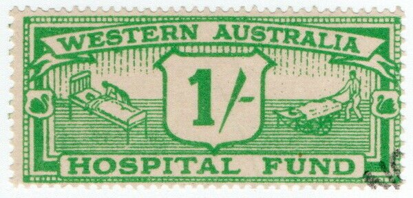 (I.B) Australia - Western Australia Revenue : Hospital Fund 1/-