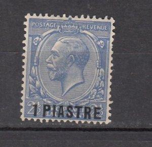 J26368  jlstamps 1913-4 great britain turkey mh #41 ovpt