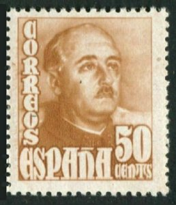 Spain 765,MNH.Michel 952a. General Franco,1948.