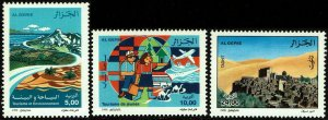 Algeria #1125-27  MNH - Tourism (1998)
