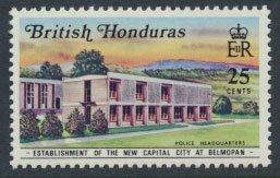 British Honduras SG 305 SC # 273 MLH  New Capital City Belmopan  see scans