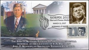 17-032, 2017, Eternal Flame, Norpex 2017, JFK, John F. Kennedy, Gravesite, Picto