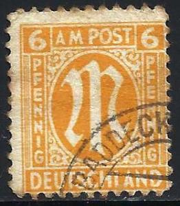 Germany  AMG Issue 1945 Scott# 3N5a Used