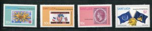 St Lucia #568-71 MNH  - Make Me A Reasonable Offer