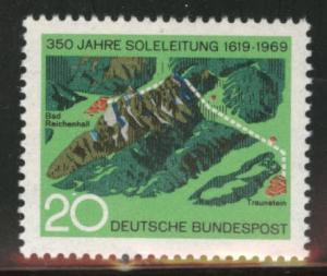 Germany Scott 1009 MNH** 1969  stamp