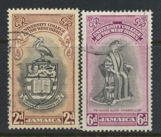 Jamaica  SG 149 - SG 150 set  - Used  -  see scan and details