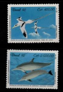 Brazil Scott 2352-2353 MNH** wildlife stamp set