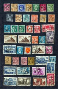 France GB Germany Austria Early Perfins (Appx 155)(NT 3658