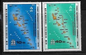 VANUATU,263-264, MNH, MAP
