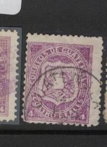 Guatemala SC 5 Copy Three VFU (10dqn)
