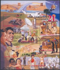 UN Vienna stamp UNO block MNH 2000 Mi 13 WS152408