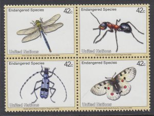 UN New York 978a Insects MNH VF