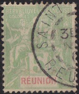 REUNION [1900] MiNr 0046 ( O/used ) [01]