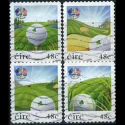 IRELAND 2006 - Scott# 1678-81 Golf Set of 4 Used