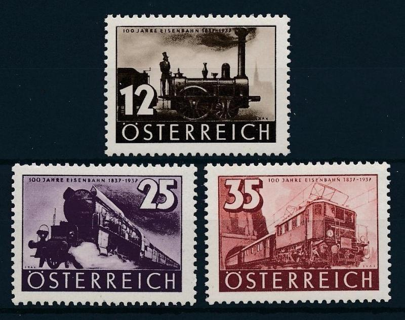 [61561] Austria 1937 Railway Train Elsenbahn Chemin De Fer  MNH