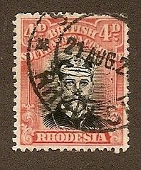 Rhodesia   Scott #125  Used   Scott CV $42.50