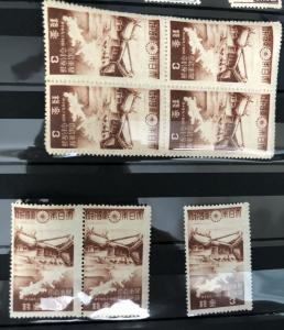349 1944 Kwantung Shrine MNH