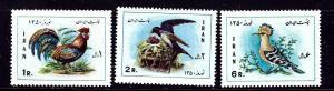 Iran 1586-88 MNH 1971 Birds